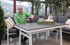 utemøbler - Google-søk Garden, Table, Furniture, Home Decor, Garten, Decoration Home, Room Decor, Gardens, Tables