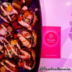 Miss Sushi – Food Valencia Sushi Food, Sushi Recipes, Pulled Pork, Cheesesteak, Valencia, Restaurant, Fresh, Ethnic Recipes, Japanese Food