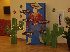 Wild West VBS theme