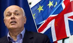 The revelation comes as former Tory leader Iain Duncan Smith yesterday piled on the pressure for Britain to leave the EU as quickly as possible following the historic vote in the referendum on June 23. The prominent Brexiteer said the UK should not necessarily seek to remain a member of the single market as such a move would involve surrendering control to Brussels.