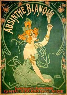 """Absinthe, the preferred drink for many a Bohemian in early 1900s Paris :) www.LiquorList.com """"The Marketplace for Adults with Taste!"""" @LiquorListcom   #LiquorList"""