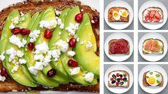 Which toast will you make? For more toast ideas… https://www.buzzfeed.com/tashweenali/energy-boosting-breakfast-toasts?utm_term=.ekR7J8Nxm#.biO692eJ5 MUSIC P...