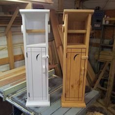 Old Timey Outhouse Toilet Paper Holder от KGCustomWoodWork на Etsy