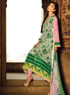2015 Lawn collection @mall5pakistan