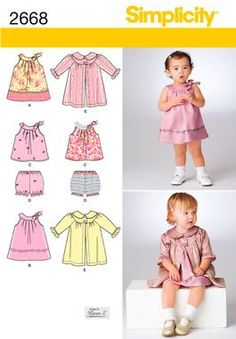 Cute, not-too frilly dresses... on closer inspection, that cloak is really sweet!