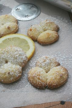 Shortbread with lemon (with a biscuit gun) 2 - Recette facile