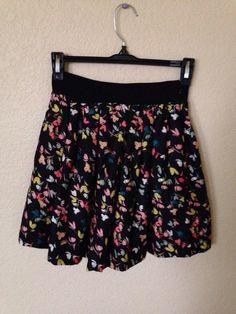 Floral Skater Skirt    [url]: http://www.vinted.com/sh/clothes/13116449-floral-skater-skirt