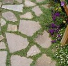using recycled concrete slabs as paving