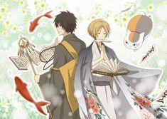 Tags: Anime, Natsume Yuujinchou, Pixiv, Nyanko-sensei, Natsume Takashi