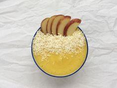 Unser Rezept Yellow-Bowl vereint gesunde, tropische Früchte in einem schmackhaften Frühstück. Die Zubereitung ist ganz einfach – befolgt einfach unser Rezept.