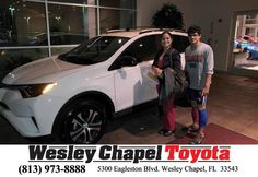 https://flic.kr/p/Rbv8HS | Happy Anniversary to Rosa on your #Toyota #RAV4 from Patrick Sawyer at Wesley Chapel Toyota! | deliverymaxx.com/DealerReviews.aspx?DealerCode=NHPF