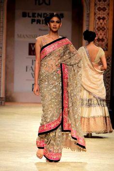 Manish Malhotra 2012 - love the kashmiri tilla work on this. gorgeous