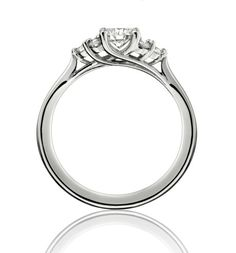 Seven Stone Purity round brilliant cut diamond engagement ring by Simon Pure Jewellery in Guildford, Surrey