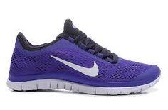 Purple sneaker! Purple Sneakers, Sneakers Nike, Nike Free, Shoes, Fashion, Nike Tennis, Moda, Zapatos, Shoes Outlet