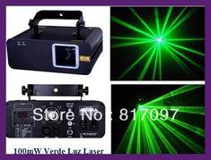 Venta 100mW Luz Laser Verde Rayo Show Laser DJ Lazer Projector Lasers Verdes Laserlicht Eventos Fiestas Luz Sonido Envio Gratis