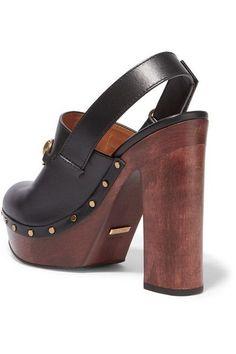 c6c61ec8a59 Gucci - Amstel Horsebit-detailed Leather Clogs - Black
