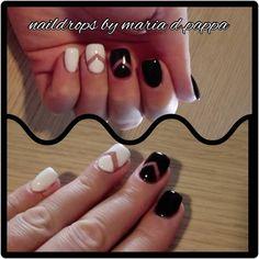 #Naildrops #manicure #semipermanent #cuccionails #negativenails
