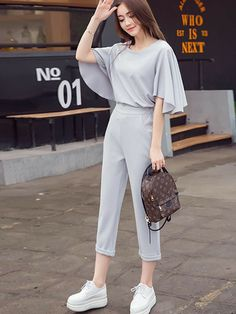 Stylish Work Outfits, Stylish Dresses For Girls, Stylish Dress Designs, Cute Casual Outfits, Pretty Outfits, Stylish Outfits, Kpop Fashion Outfits, Girls Fashion Clothes, Mode Kpop