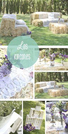 M&J confiaron en bonitismos para su boda, un evento romántico que destilaba buen gusto por todos sitios. Mirad cómo nos quedó su decoración.