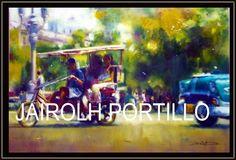 Jairolh Portillo Alvarez oleo: 80x60