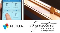 Signature Series | Nexia Home Automation Budget Blinds, Modern Blinds, Shades Blinds, Home Automation, Budgeting, Room, Contemporary Interior Shutters, Bedroom, Rum