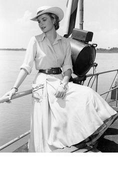 Grace Kelly in Kolumbien, 1954
