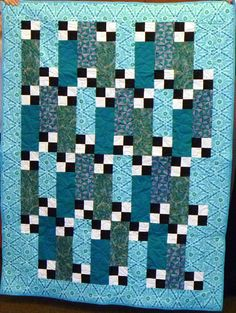 Another gorgeous Four Patch Frenzy by Sandy Brett!