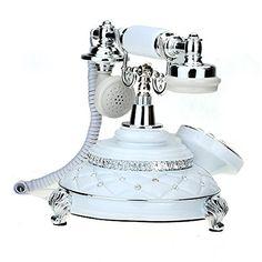 VivReal Téléphone Fixe Fil Filaire Résine Rétro Vintage a... https://www.amazon.fr/dp/B00RCYAPJI/ref=cm_sw_r_pi_dp_W6EDxb4TRVN3P