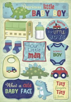 Karen Foster Design - Cardstock Stickers - Momma's Boy at Scrapbook.com $2.19