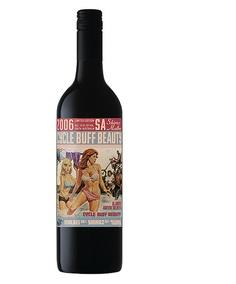 "I've not tried ""Cycle Buff Beauty"" wine but I like the bottle. Made by Misfit Wine Company."