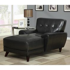 edana leather chaise lounge black 54999 buy chaise lounge leather