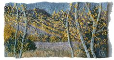 Embroidery & Textile Art | Landscape - Preview | Natalia Margulis - Textile & Embroidery Artist