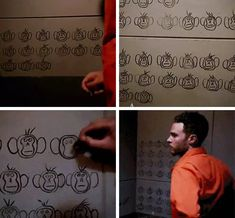 Season 5 Episode 5 Fitz counting with monkey tallies while in prison Agents Of Shield Fitz, Marvels Agents Of Shield, Marvel Memes, Marvel Dc Comics, Marvel Avengers, Leopold Fitz, Iain De Caestecker, Fitz And Simmons, Marvel Show