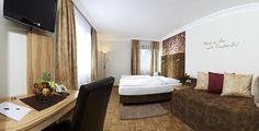 PREMIUM DOPPELZIMMER Oversized Mirror, Divider, Bed, Room, Furniture, Home Decor, Double Room, Bedroom, Decoration Home