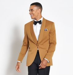 Gold Tuxedo Jacket, Tuxedo Pants, Black Tuxedo, Tuxedo For Men, Unique Tuxedos, Cool Tuxedos, Brown Tux, Brown Suits, Groomsmen Suits