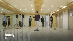 B1A4 - Lonely (없구나) 안무 영상 (Lonely Dance Practice Video) Not too fond of the MV but definitely the dance and their beautiful voices!~ <3