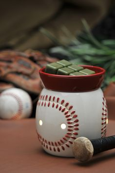 #Scentsy Full-size warmer - Play Ball  #outdoors