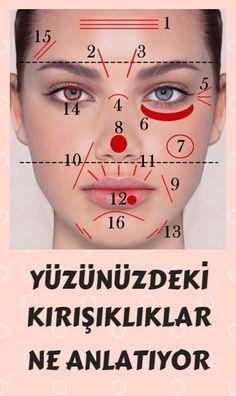 Yüzünüzdeki çizgiler ve kırışıklıklar vücudunuz hakkında ne gibi NRN belirtiler veriyor?