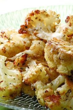 & Parmesan Roasted Cauliflower Roasting isn't usually the first cooking method you think of for cauliflower but the results are quite delicious, not to mention low carb and low cal!Healthy Living Healthy Living may refer to: Vegetable Dishes, Vegetable Recipes, Vegetarian Recipes, Healthy Recipes, Vegetable Appetizers, Easy Recipes, Low Cal, Clean Eating Snacks, Healthy Eating