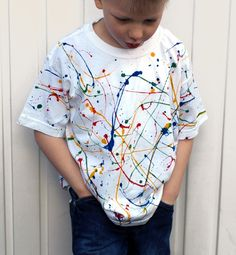 T-Shirt Painting Crafts | Found on artful-kids.com