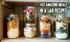 Over 400 Amazing Meals In A Jar Recipes  Whether you are trying to save money for a better future,...