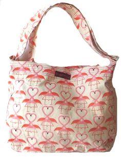 (vu) Flamingo bag! Flamingo Craft, Flamingo Decor, Flamingo Party, Pink Flamingos, Flamingo Beach, Flamingo Gifts, Pink Love, Pretty In Pink, Pink Bird