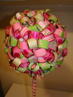 Pink Christmas decorations. Pinned on behalf of Pink Pad, the women's health mobile app with the built-in community