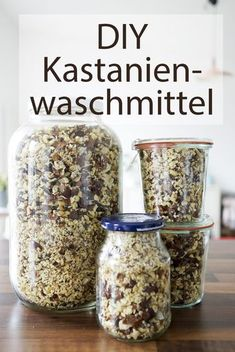 DIY – Waschmittel aus Kastanien - Practical Tips for Cleaning at Home