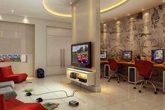 ideias para decorar lan house - Pesquisa do Google