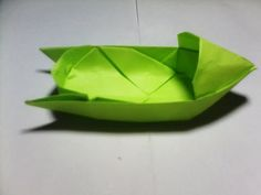 ORIGAMI FIGHTING SHIP for KIDS -  How to make a paper boat that Floats on Water | Warship - YouTube