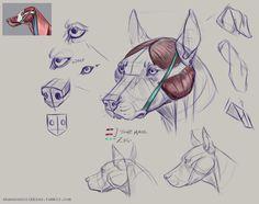 Week 5 dog head notes. Woof…
