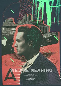 WE ARE MEANING on Behance #poster #collage #modern