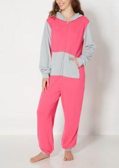 Pink Color Block Knit Onesie | Onesies | rue21