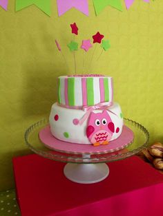 Owl Baby Shower Party   CatchMyParty.com